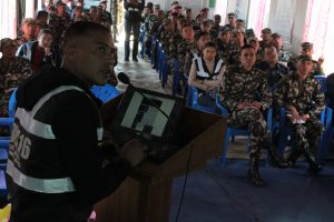 Training to Nepal Police & Army Personnels'