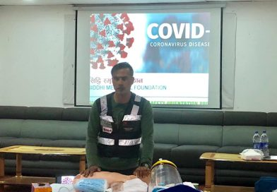 COVID-19 Safety Orientation Program/ Dead Body Handling procedure/Donning Doffing at Siddhi Memorial Hospital