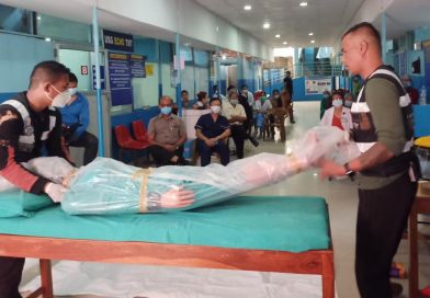 COVID-19 Safety Orientation Program and Dead Body Handling at Nagarik Hospital